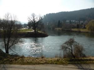 In Hannover-Münden beginnt der Weserradweg