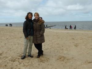 Mit Insa in Cuxhaven